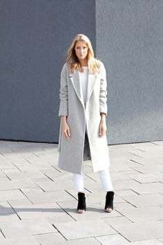 the COS coat. Already got a black one, but grey is more than welcome too!