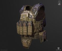 new 3d model for crytek (soldier vest) by Denis Didenko   Creatures   2D   CGSociety