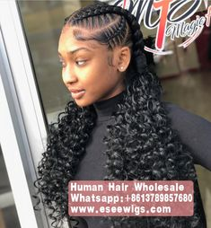 Trendy braids with weave hairstyles black women curly haircuts 41 Ideas Black Girl Braids, Braids For Black Hair, Girls Braids, Kid Braids, Braids Ideas, Curly Hair Styles, Natural Hair Styles, Twisted Hair, African Braids Hairstyles