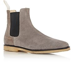 Common Projects Suede Chelsea Boots - Boots - Barneys.com
