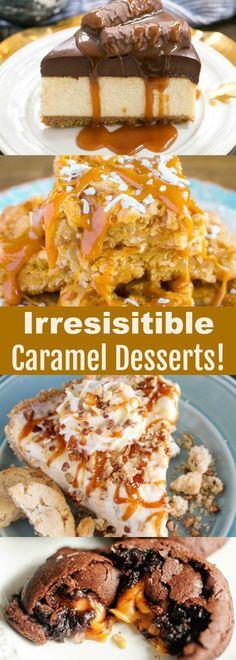 Irresistible Caramel Desserts