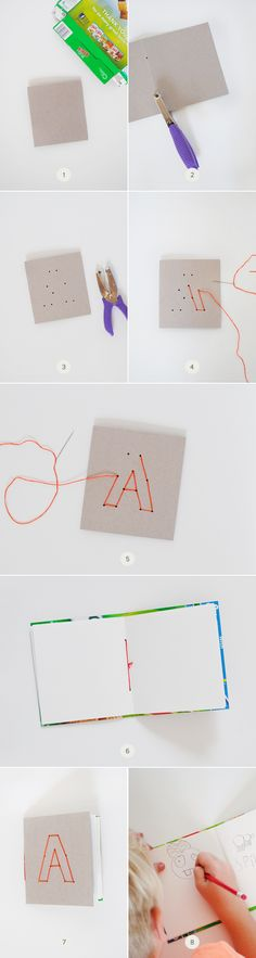 DIY Notebooks from Cereal Boxes | Julep