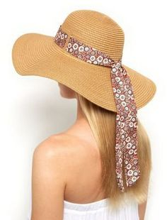 Pin for Later: Dieses Accessoire hat eurem Sommer-Outfit noch gefehlt  New Look Schlapphut mit rostrotem Band (15 €)