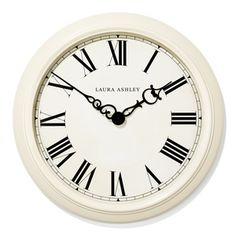 Cream Oversized Gallery Clock