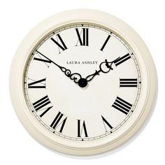 Cream Oversized Gallery Clock