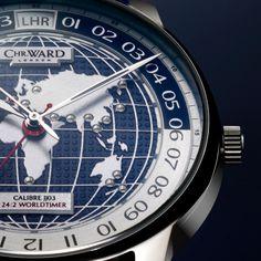 C900 Worldtimer men's watch by Christopher Ward...