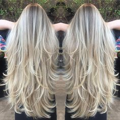 90 Best Long Layered Haircuts - Hairstyles For Long Hair 2019 Long layered hair is beautiful, Need to find layered haircuts inspiration? See our list of 90 stunning layered haircuts&hairstyles for long hair now. Face Shape Hairstyles, Long Face Hairstyles, Hairstyles Haircuts, Straight Hairstyles, Pretty Hairstyles, Messy Short Hair, Long Thin Hair, Curls For Long Hair, Long Hair Short Layers