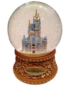 Disney Snow Globe - Cinderella Castle - Walt Disney World