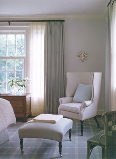 Victoria Hagan. Love the wingchair