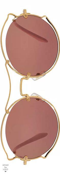 Miu Miu Waved Monochromatic Open-Inset Sunglasses