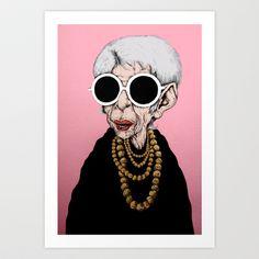 baldurhelgason: Iris Apfel is Iconic. When then Caricature you its . 50 Y Fabuloso, L'art Du Portrait, Portraits, Collage Portrait, Iris Fashion, Rare Birds, Advanced Style, Arte Pop, Portrait Illustration