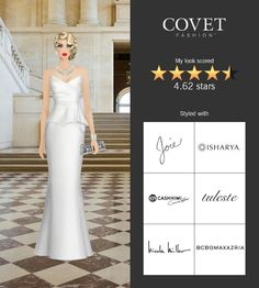 Covet Fashion Game. Look: Hollywood Royalty