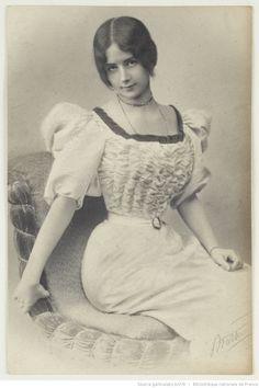 Cléo de Mérode (Sept 27, 1875 – Oct 17, 1966)