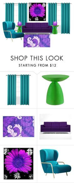 """""""My low end traidic"""" by jzieser on Polyvore featuring interior, interiors, interior design, home, home decor, interior decorating, Sun Zero, Modway, Rove Concepts and LumaBase"""
