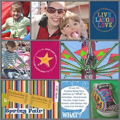 JessicaSprague.com Gallery - Project Life/Spring Fair