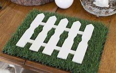 Preparamos uma inspiração linda de mesa de Páscoa rústica para você surpreender as crianças com muito charme
