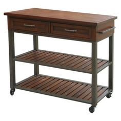 Jackson Kitchen Cart World Market Jackson Kitchen Cart From World Market  Industrial And