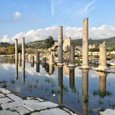 Ruins of Ancient city of #Patara in #Antalya #Turkey