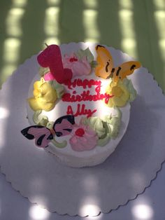 Ally's 1st Birthday Party