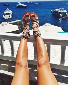 cornetti gladiator sandals