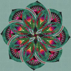 Check out this original color-way designed by revgarden g. Sign up on www.quiltster.com to create your own.