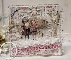Maja Design - Vintage Frost Basics - Jenines Card Ideas