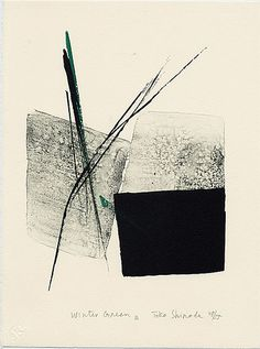 toko shinoda : lithographs (prints)
