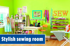 Maximize your creative space using these ideas for storing your stash, tools, and supplies in style! All People Quilt, Sewing Rooms, Storage Organization, Quilting, Tools, Space, Stylish, Creative, Furniture