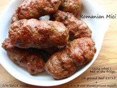 Home Cooking In Montana: Romanian Sausages.Mititei/Mici (or small ones) - Home Cooking In Montana: Romanian Sausages…Mititei/Mici (or small ones) - Sicilian Recipes, Croatian Recipes, Turkish Recipes, Greek Recipes, Ethnic Recipes, Scottish Recipes, Russian Recipes, Sausage Recipes, Cooking Recipes