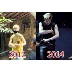 THOSE MUCLES THO...... My Baby zelo growing up :,) HE CAN'T GROW UP NOOOO!!!