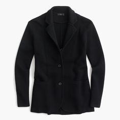 J.Crew - Merino wool sweater-blazer
