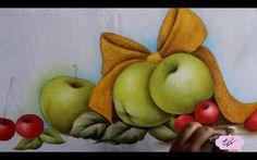 Pintura em tecido -  Eliane Nascimento: Pintura natalina.