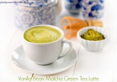 Vanilla Matcha Green Tea Latte #vegan #dairyfree #glutenfree and review of @lovemysilk Cashew Milk - by Dreena Burton, Plant-Powered Kitchen