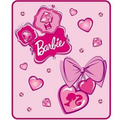 Barbie Throw Blankets