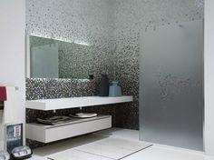 Parete per doccia in vetro JAP by Antonio Lupi Design® | design Riccardo Fattori