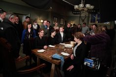 Behind the Scenes of Downton Abbey at Ealing Studios - organized chaos
