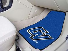FanMats Grand Valley State University Carpeted Car Mats 18x27