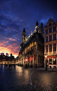 King House, Great market, Brussels, Belgium by Batistini Gaston, via Flickr