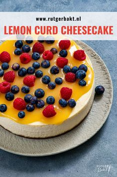 Bake My Cake, Pie Cake, Lemon Curd Cheesecake, High Tea, Delish, Sweet Tooth, Bakery, Good Food, Cooking Recipes