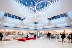 Kauppakeskus Forum, a shopping centre in Helsinki. Renovation designed by SARC Architects Visit Helsinki, Image Archive, Interesting History, Shopping Center, Beautiful Buildings, Capital City, Summer Time, Architects, Centre