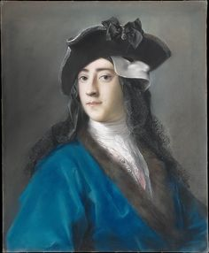 Rosalba Carriera (Italian, 1673–1757). Gustavus Hamilton (1710–1746), Second Viscount Boyne, in Masquerade Costume, 1730–31. The Metropolitan Museum of Art, New York. Purchase, George Delacorte Fund Gift, in memory of George T. Delacorte Jr., and Gwynne Andrews, Victor Wilbour Memorial, and Marquand Funds, 2002 (2002.22) #halloween #costume