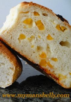 Manchengo Cheese and Apricot No-Knead Bread.