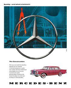 Mercedes Benz advertisement.