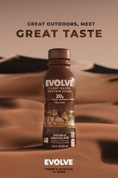 Chocolate Protein Shakes, Chocolate Shake, Delicious Chocolate, Chocolate Flavors, Halal Snacks, Plant Based Protein, Protein Sources, Natural Flavors, Whiskey Bottle