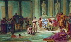 In the Roman Baths - Fyodor Bronnikov
