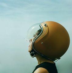 cool bubble visor 60:s style