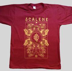 Camiseta Bolada Scalene Red - Loja 40 R$ \0/