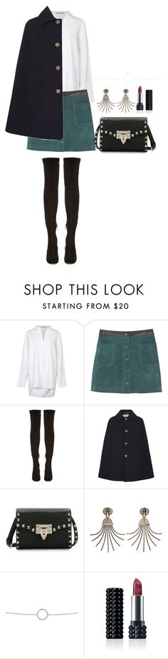 """Untitled #1554"" by she-is-wearing-this ❤ liked on Polyvore featuring Acne Studios, MANGO, Nicholas Kirkwood, Yves Saint Laurent, Valentino, Lanvin, Plukka and Kat Von D"