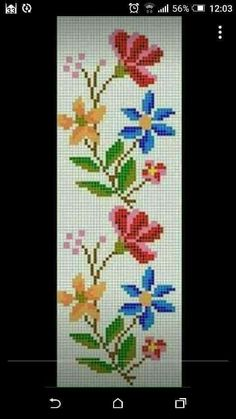 This Pin was discovered by Ays Cross Stitch Bookmarks, Cross Stitch Rose, Cross Stitch Flowers, Cross Stitch Charts, Cross Stitch Designs, Cross Stitch Patterns, Christmas Embroidery Patterns, Embroidery Patterns Free, Hardanger Embroidery
