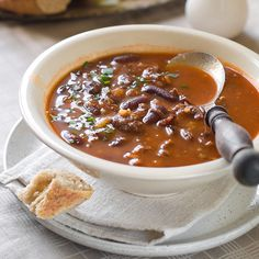 Chocolate parsnip chili - with fiber to help combat constipation.